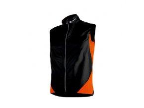 SENSOR PARACHUTE EXTRALITE pánská vesta černá/oranžová