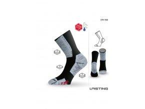 Lasting CMH funkční ponožky černé  ponožky