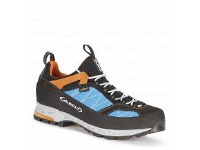 AKU Tengu Low GTX Turquoise/Orange  pánské boty