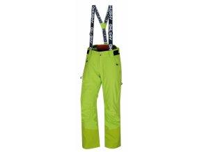 Husky Pánské lyžařské kalhoty  Mitaly M výrazně zelená