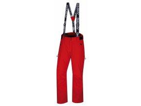 Husky Pánské lyžařské kalhoty  Mitaly M červená
