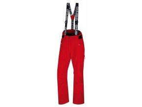 Husky Dámské lyžařské kalhoty  Mitaly L červená