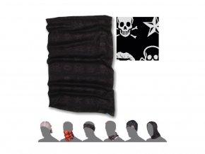 SENSOR multifunkční šátek skulls