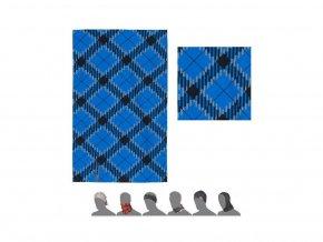 SENSOR multifunkční šátek Hero - modrá