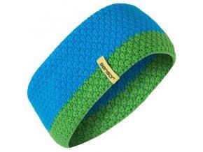 SENSOR pletená čelenka modrá