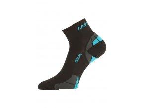 Lasting funkční cyklo ponožky CTF černé  ponožky