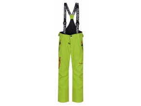 Husky Dětské lyžařské kalhoty  Zeus Kids výrazně zelená