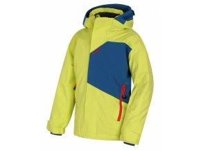 Husky Dětská ski bunda   Zort Kids sv. zelená