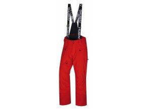 Husky Pánské lyžařské kalhoty  Gilep M výrazně červená