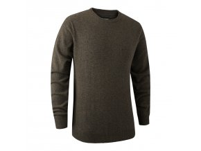 Deerhunter svetr Brighton Knit w.O-Neck 383 DH