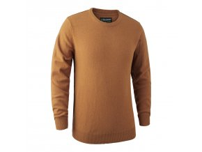 Deerhunter svetr Brighton Knit w.O-Neck 656 DH