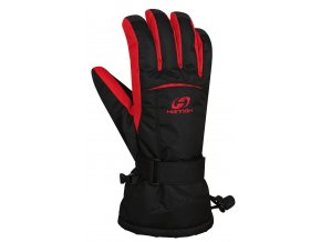 Hannah Brion anthracite/racing red