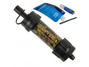 291080 vodni cestovni filtr sawyer sp128 mini filter camo limited edition