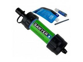 291182 vodni cestovni filtr sawyer sp128 mini filter green
