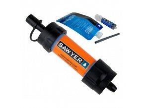 291185 vodni cestovni filtr sawyer sp128 mini filter orange