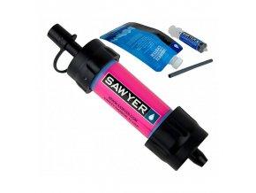 291188 vodni cestovni filtr sawyer sp128 mini filter pink