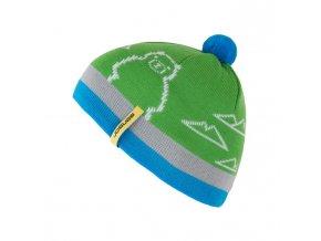 SENSOR dětská zimní čepice zelená