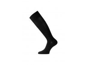 Lasting merino lyžařské podkolenky FWK černé  ponožky