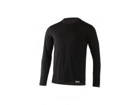 Lasting pánské merino triko ALAN černé