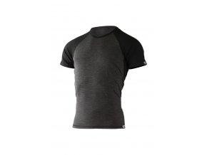 Lasting pánské merino triko OTO šedé
