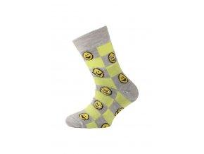 Lasting dětské merino ponožky TJE žluté  ponožky