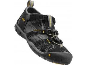 Keen Seacamp II CNX Jr black/yellow  dětské sandál