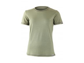 Lasting dámské merino triko VLADA zelené