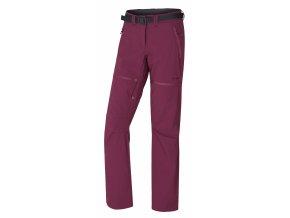 Husky Dámské outdoor kalhoty   Pilon L vínová