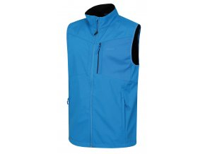 Husky Pánská softshellová vesta   Salien M modrá