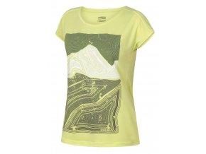 Husky Dámské triko   Tash L sv. zelená