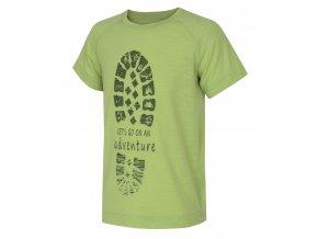 Husky Dětské triko   Zingl Kids sv. zelená