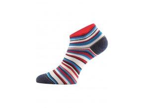 Lasting funkční ponožky DUHA proužkované  ponožky