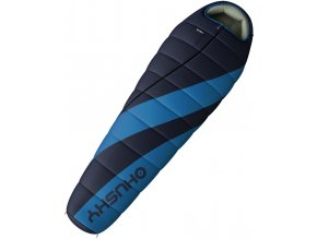 Husky Spacák Extreme Ember Long -14°C modrá  spací pytel