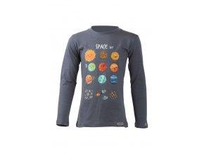 Lasting dětské merino triko AVE modré