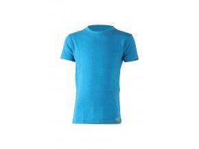 Lasting dětské merino triko TONY modré