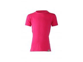 Lasting dětské merino triko TONY růžové