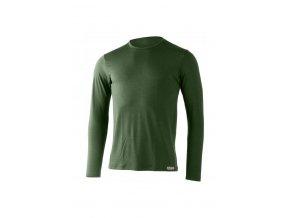 Lasting pánské merino triko ALAN zelené