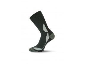 Lasting funkční inline ponožky ILL černé  ponožky