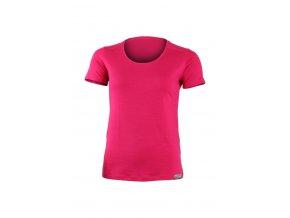 Lasting dámské merino triko IRENA rúžové