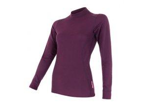 SENSOR DOUBLE FACE dámské triko dl.rukáv fialová