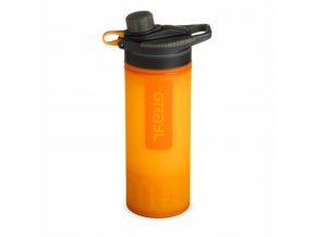 grayl geopress purifier 710ml orange 01
