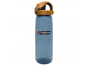 Nalgene OTF 650 ml Rhino/Brown Black Cap
