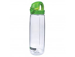 Nalgene OTF 650 ml Clear/Green Cap