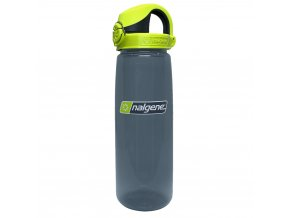 Nalgene OTF 650 ml Charcoal/Charcoal Lime Cap