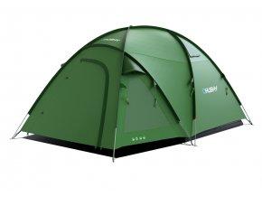 Husky Stan Family Bigless 5 zelená  stan + čelovka LED 80lm