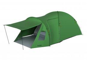 Husky Stan Family Brozzer 5 Blackroom zelená  stan + cyklosvětlo čelovka power LED
