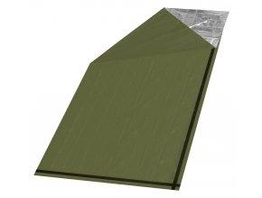 Cattara Izotermická fólie SOS zelená válec 200x92cm