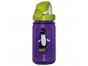 Nalgene Clear Kids OTF Purple Penguin-