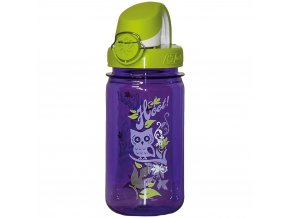 Nalgene Clear Kids OTF Purple Hoot-