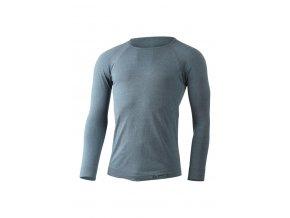 Lasting pánské funkční triko MOL modrý melír
